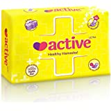 Active Ultra Healthy Hamesha Thin Sanitary Pads For Women Combo Of 6 Packets Xl (36 Pads)