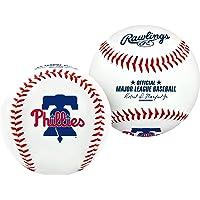 MLB Philadelphia Phillies Team Logo Honkbal, Officieel, Wit