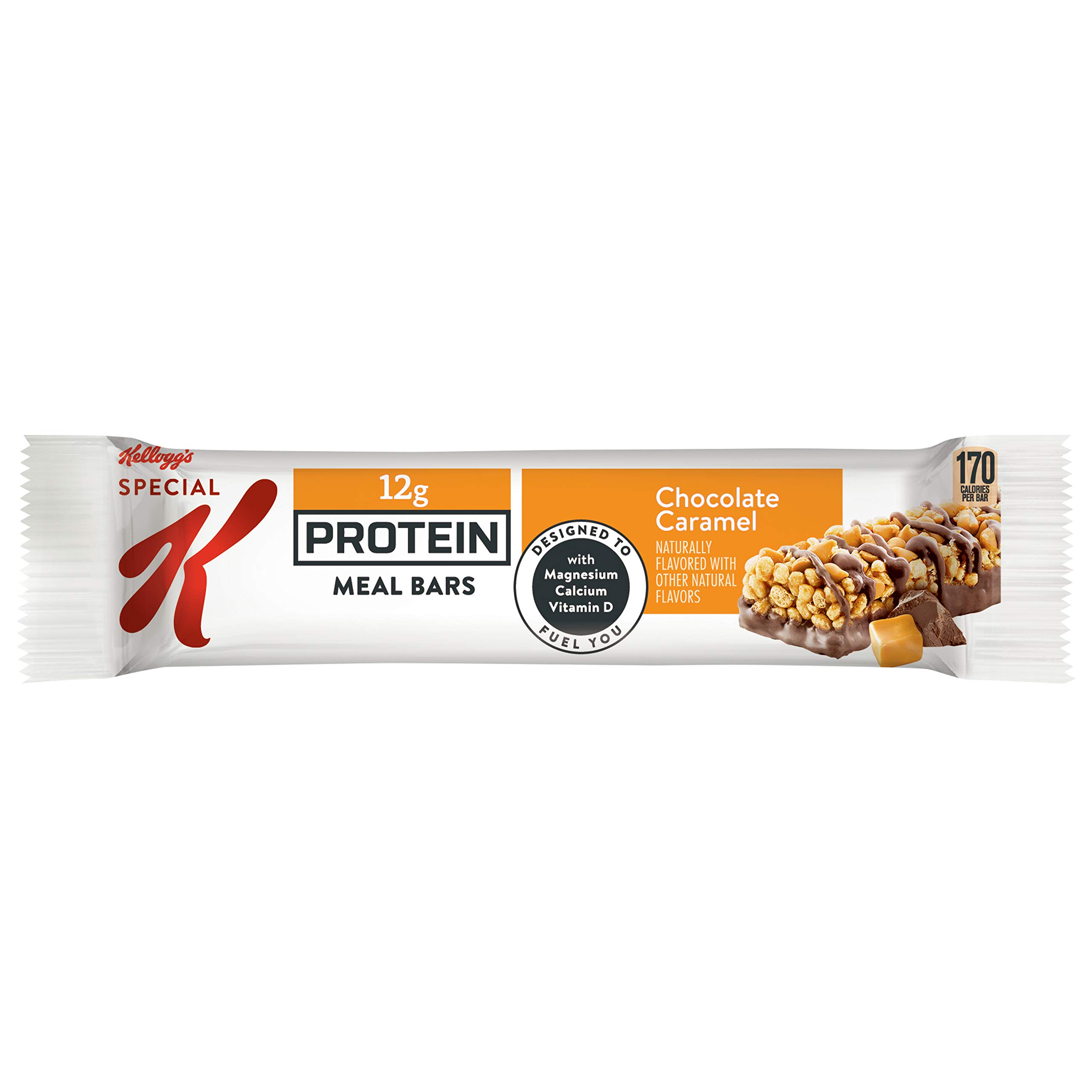 Kellogg's Special K Protein Meal Bars, Chocolate Caramel, Bulk Size, 48 Count (Pack of 6, 12.7 oz Trays) by Special K (Image #7)