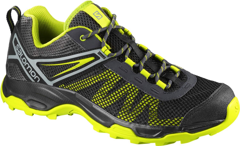 SALOMON Men's X Ultra Mehari Hiking Shoes, Night Sky/Lead/Acid Lime, 9.5 by SALOMON