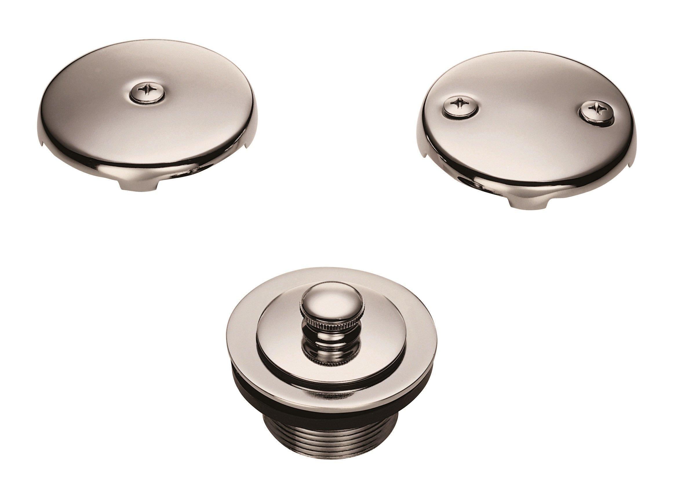 Danze D490637BN Lift and Turn Bath Drain Conversion Kit, Brushed Nickel