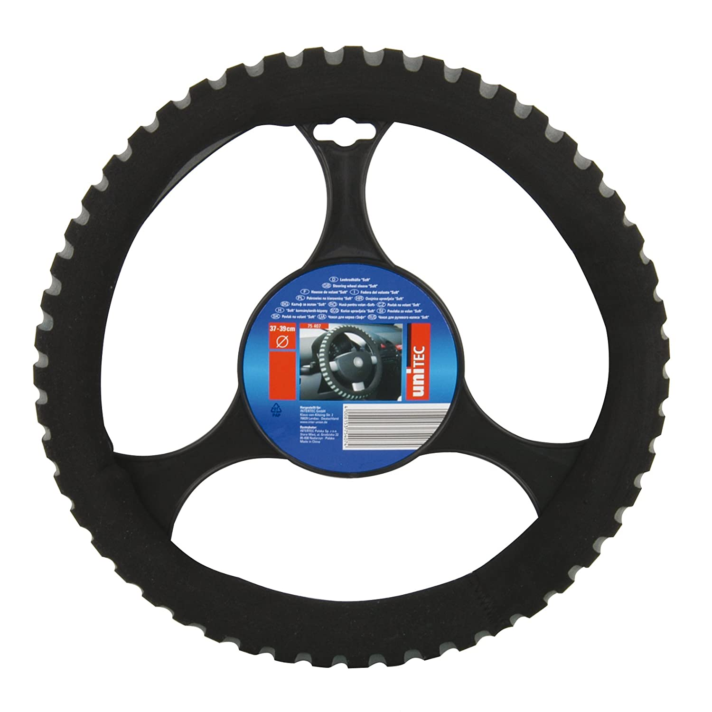 Unitec 75407 Steering Wheel Cover Foam Silver Soft