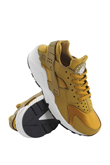 new product eecc0 ffc85 Image Unavailable. Image not available for. Color  634835-700 WOMEN AIR  HUARACHE RUN NIKE BRONZINE SAIL BLACK