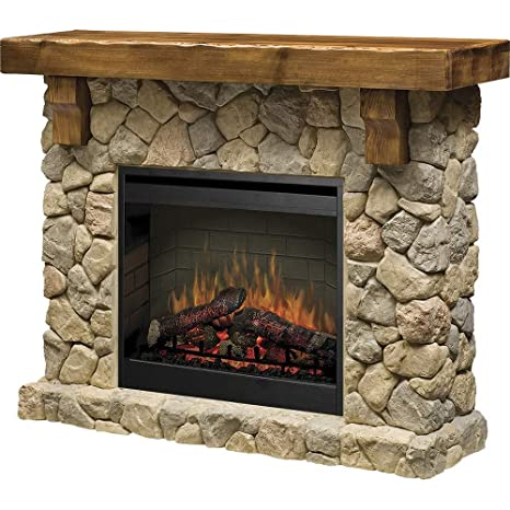 Sensational Dimplex Smp 904 St Fieldstone Pine And Stone Look Electric Fireplace Mantel Gds26L5 904St Home Interior And Landscaping Ologienasavecom