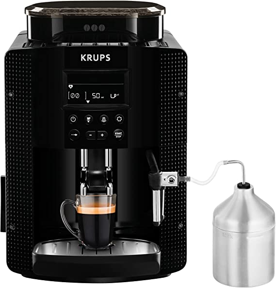 Krups Essential EA81M8 - Cafetera superautomática, accesorio leche ...