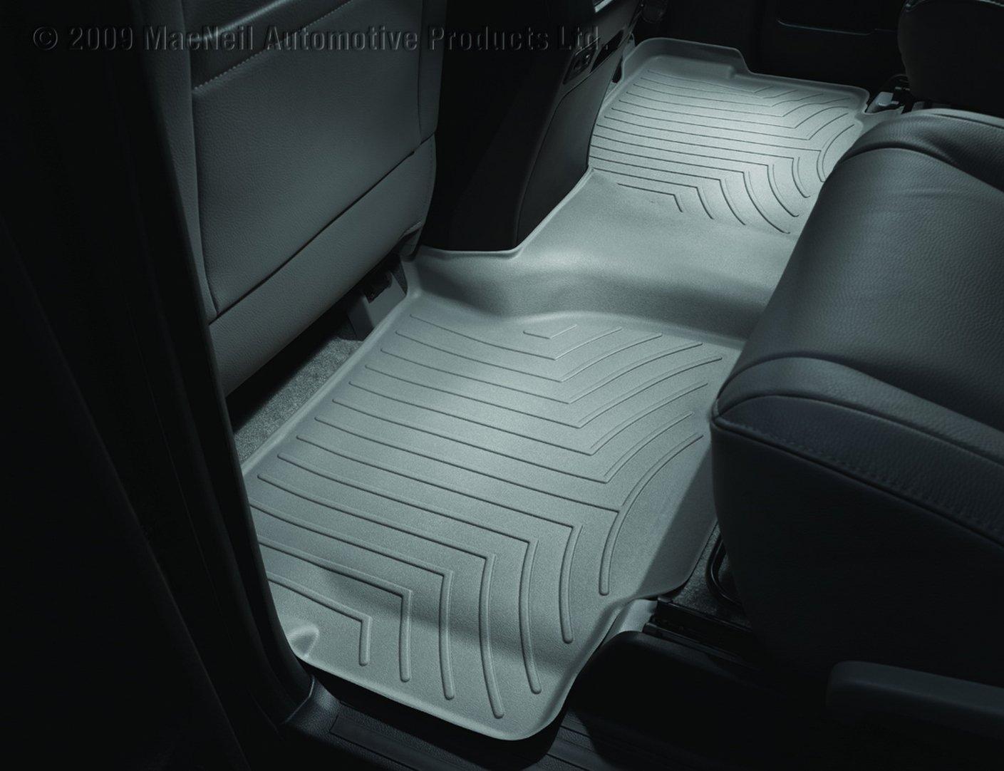 Grey 460934 WeatherTech Custom Fit Rear FloorLiner for Toyota Sequoia
