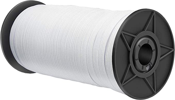 Elastic for Face Mask,20 yards Elastic Band,Elastic Cord,Face Mask DIY Elastic Band,high quality elastic,for Knittingface shiel daccessory