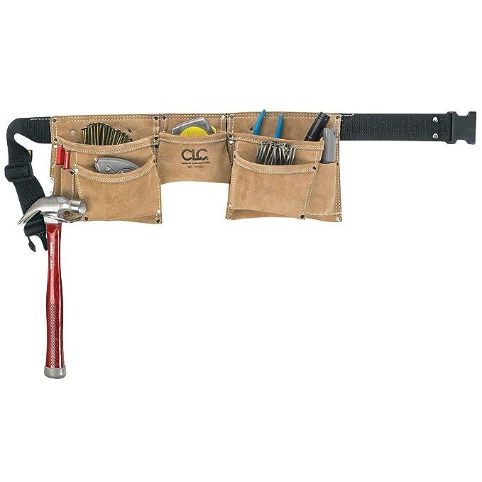 CLC trabajo Gear i370 X 3 8 bolsillo ante resistente de trabajo cinturón  delantal 5d4de5d5fb55