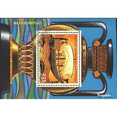Äquatorialguinea Bloc 281 (complète.Edition.) 1978 Navires le antiquité (Timbres pour les collectionneurs)