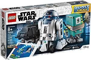 LEGO Star Wars BOOST Droid Commander 75253 Learn to Code Educational Tech Toy for Kids, Fun Coding Stem Set With R2-D2...