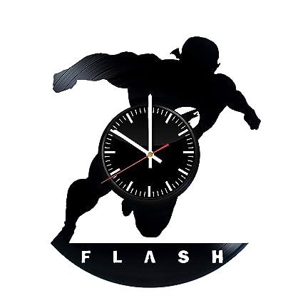 Flash DC Comics Gift Vinyl Record Wall Clock - Get Unique Bedroom or  livingroom Wall Decor 7f69f930e3