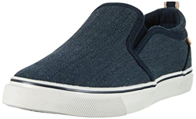Wrangler Damen Icon Slip on Sneakers, Blau (Navy), 38 EU