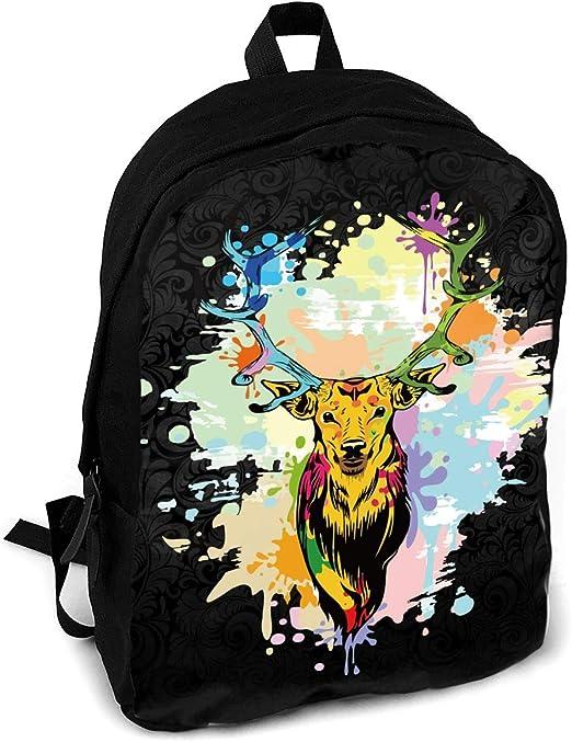 HUOPR5Q Funny Cute Animal Galaxy Cat Drawstring Backpack Sport Gym Sack Shoulder Bulk Bag Dance Bag for School Travel