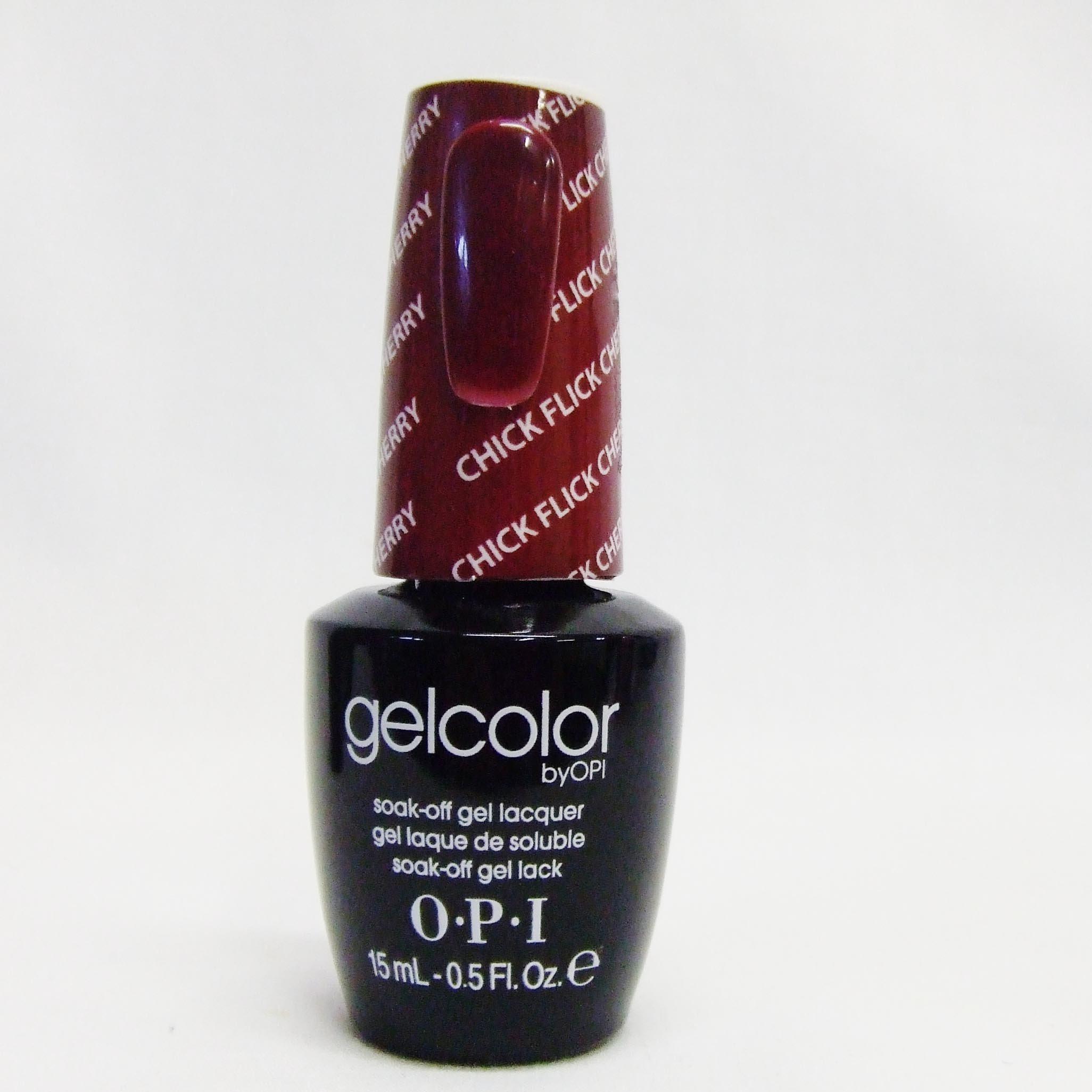 Amazon.com: OPI Nail Lacquer, Chick Flick Cherry, 0.5 fl. oz ...