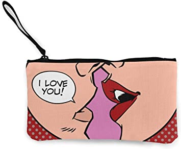 Love Kiss - Bolso de Mano para Smartphone, con Correa para la ...