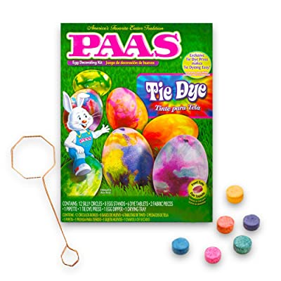 PAAS 39418 Tie Dye Egg Decorating Kit: Kitchen & Dining