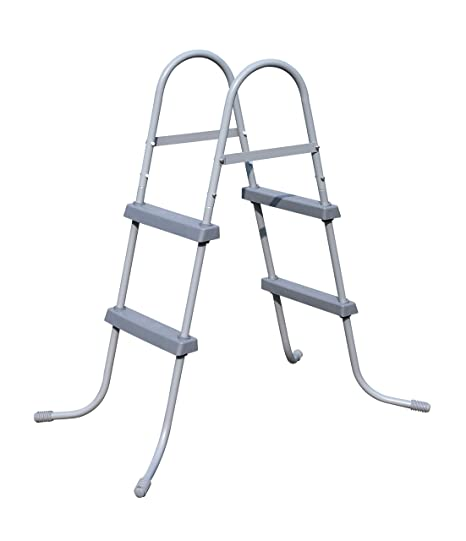 Bestway 58430 - Escalera para piscinas de 84 cm, sin plataforma