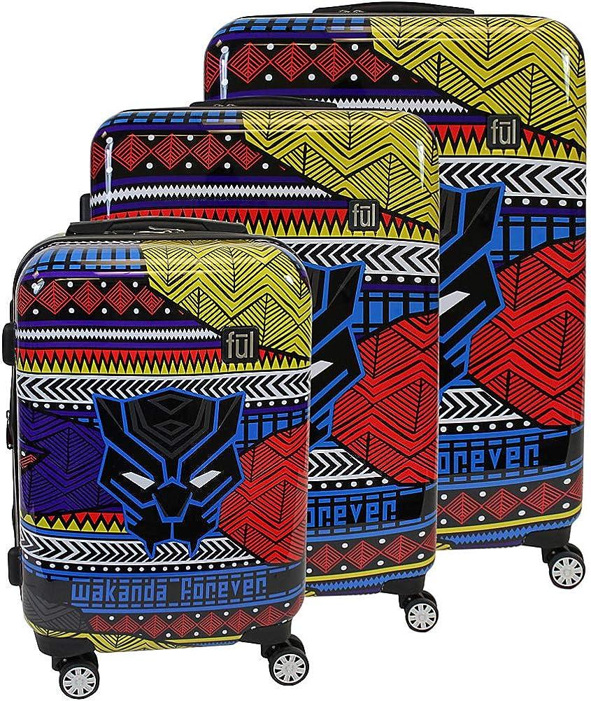 Ful Black Panther Luggage