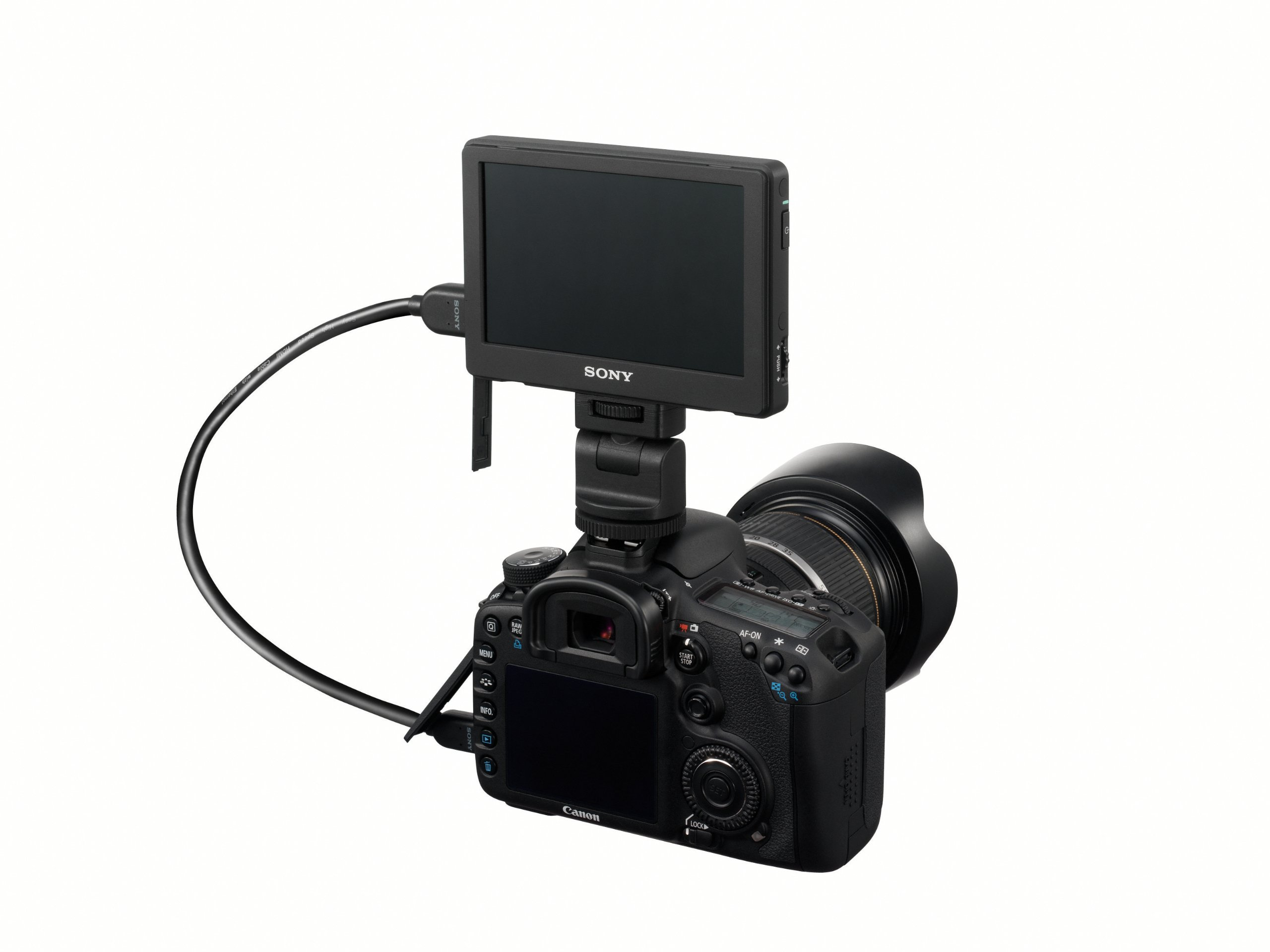 Sony CLM-V55 5-Inch Portable LCD Monitor for DSLR cameras by Sony