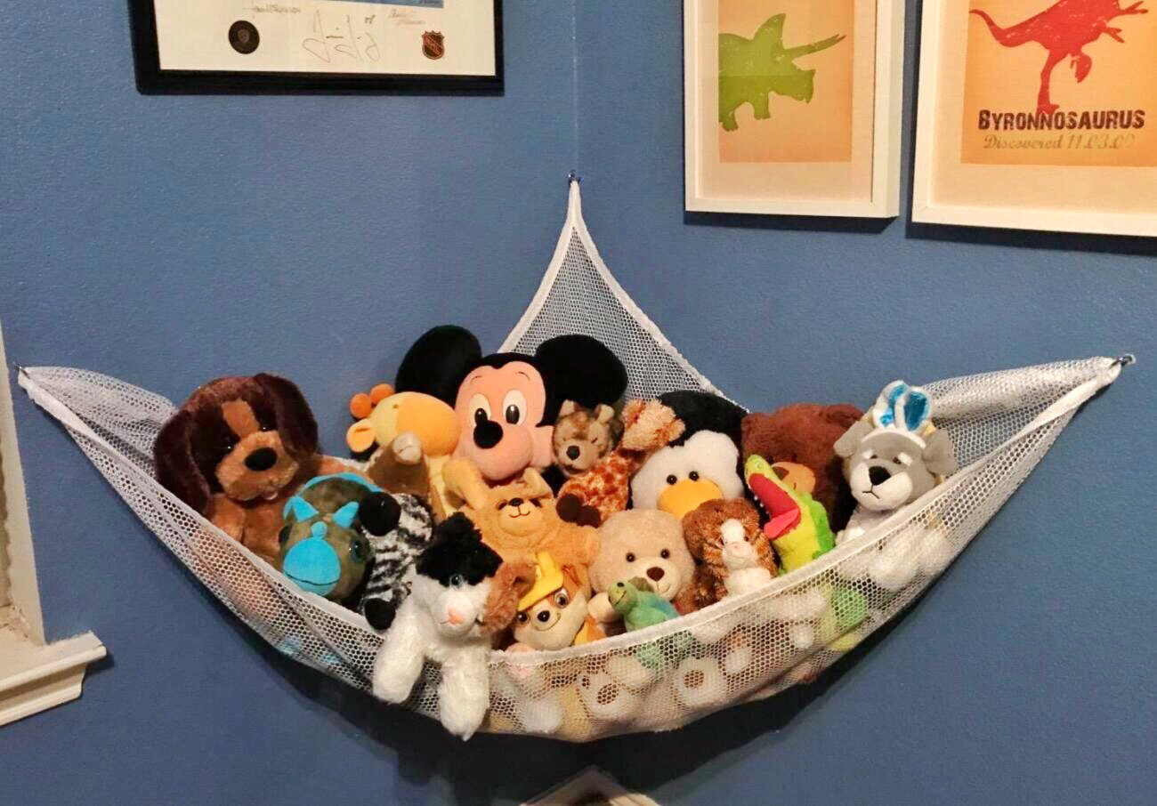 Stuffed Animal Hammock, 6.5 x 5 x 5 feet Toy Hammock Stuffed Animals Organizer SEGMART