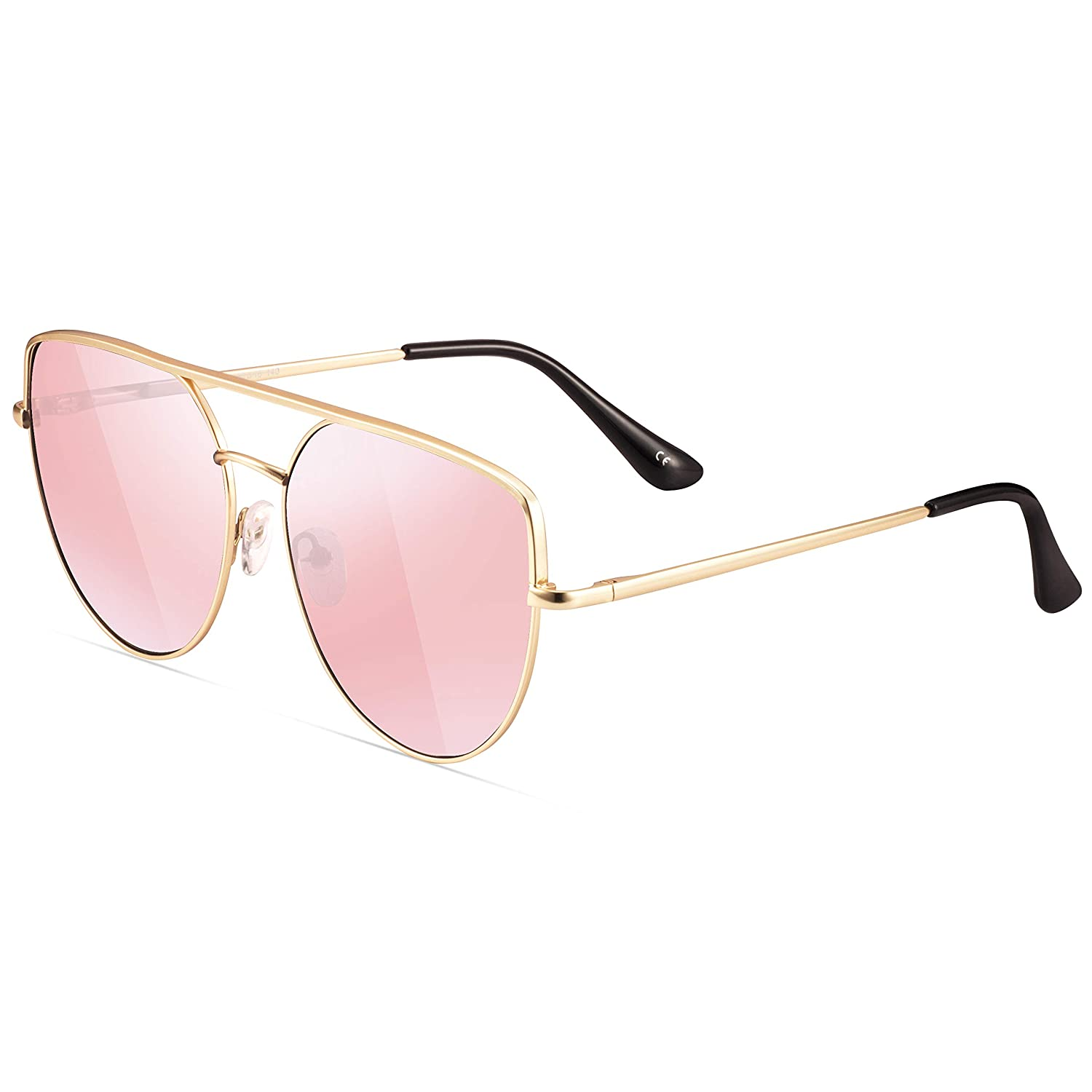 c341a3d38 metal frame; Composite lens; polarized; Lens width: 2.36 inches; ✅ FASHION CATEYE  SUNGLASSES FOR WOMEN ...