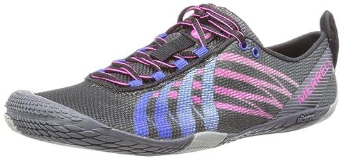 Merrell VAPOR GLOVE - Zapatillas De Deporte Para Exterior de material sintético mujer, color azul, talla 42.5: Amazon.es: Zapatos y complementos