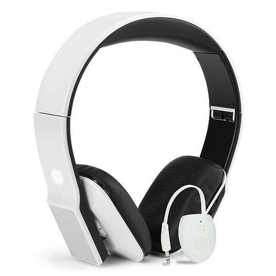 GOgroove Wireless TV Bluetooth Headphones Kit with Transmitter AUX/RCA  Adapter DLX Headset - 14 Hour Battery, Lightweight Design, Plush Comfort  Ear