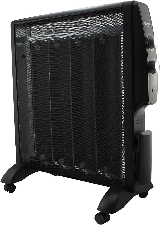 Bajo consumo y eficiente PRC-1500B Bastilipo radiador de 1500W Placa radiante de mica compacta