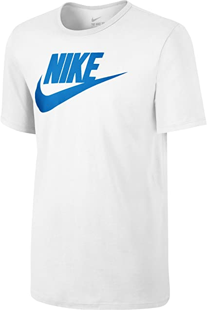 Nike Futura Icon T Shirt Homme WhiteWhitePhoto
