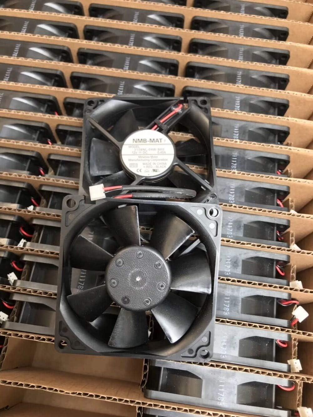 New Original For NMB 3108NL-04W-B60 DC 12V 0.40A 8020 8cm 808020mm 2 wire cooling fan