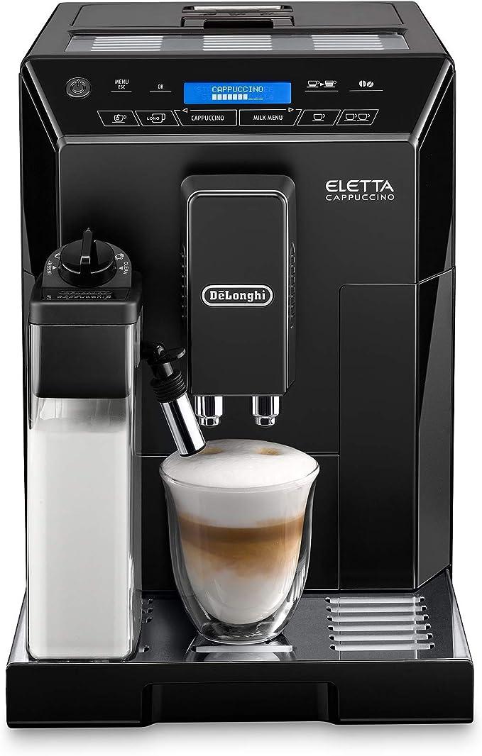 Amazon.com: DeLonghi Eletta Black Cappuccino Top Digital Super Automatic Machine with LatteCrema System: Kitchen & Dining