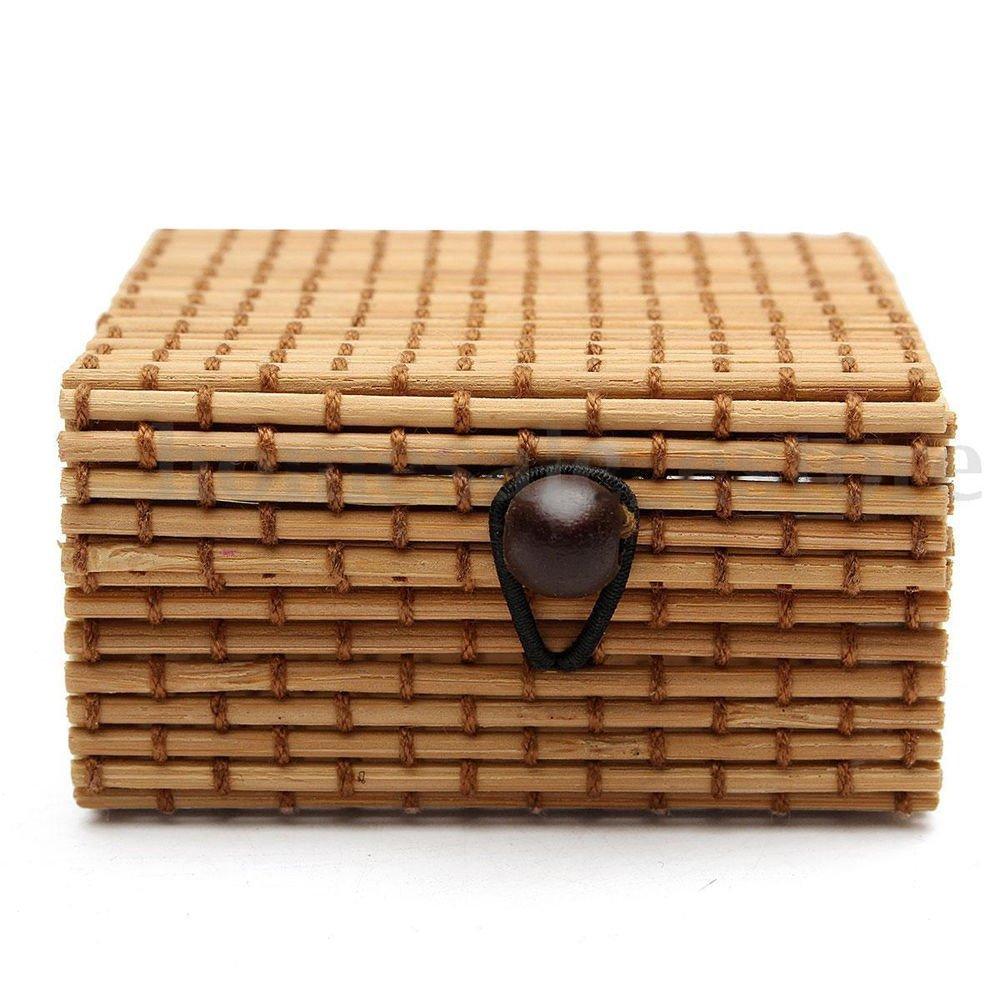 Caja de Bambú para Joyería