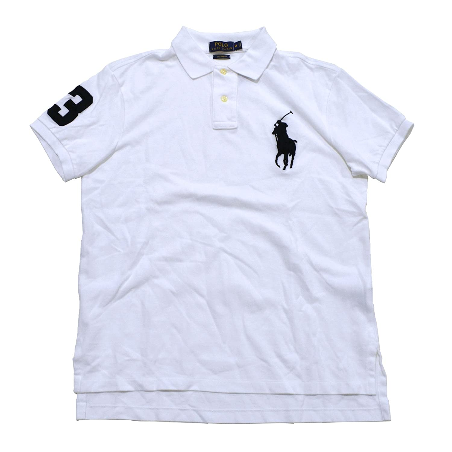 Polo Ralph Lauren Mens Custom Fit Big Pony Polo At Amazon Mens