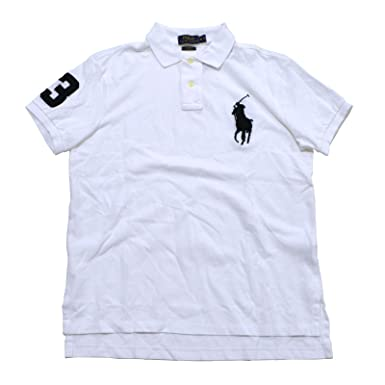 30d5bf7fc7a65 Polo Ralph Lauren Men s Custom-Fit Big Pony Polo at Amazon Men s ...