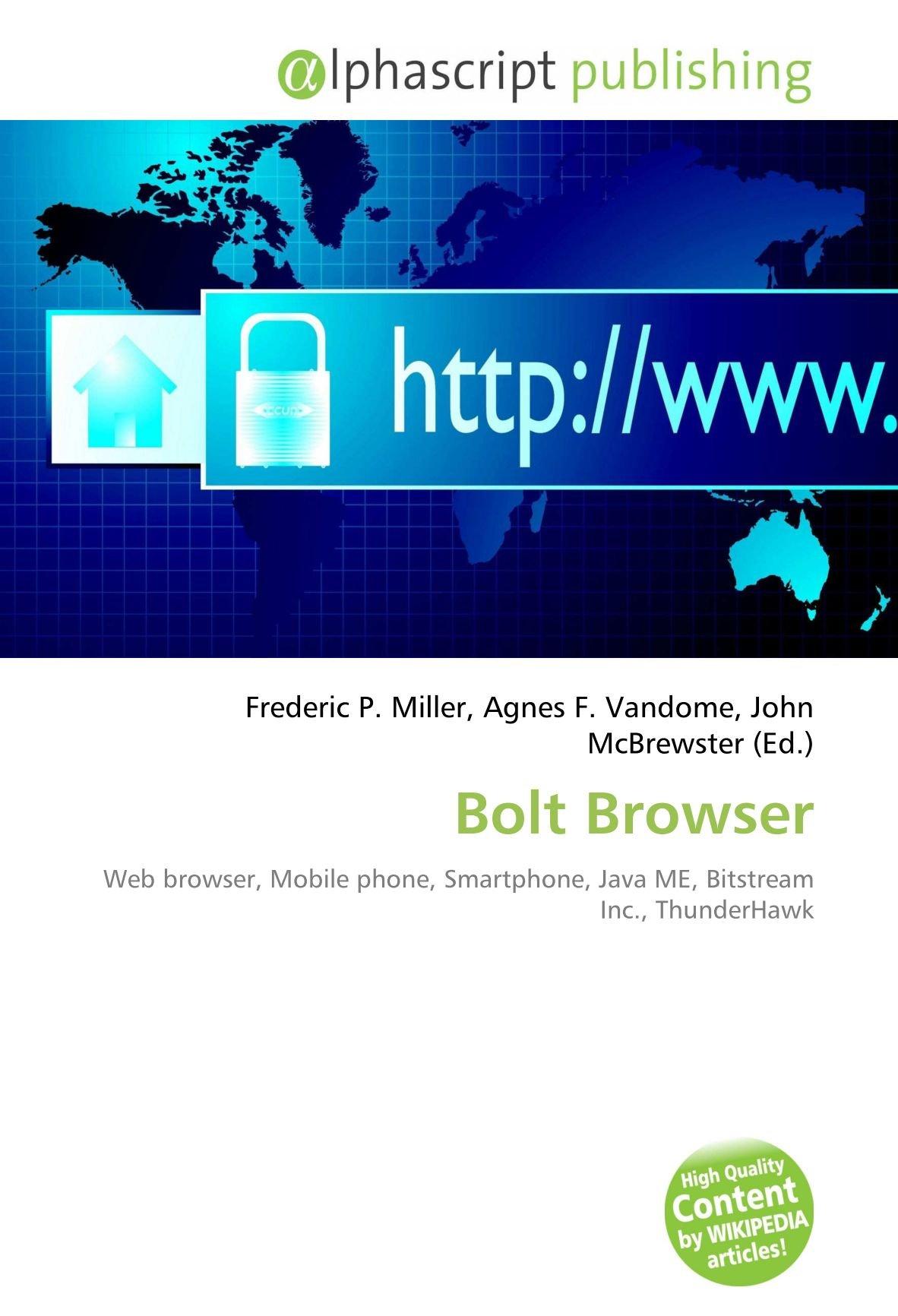 Amazon fr - Bolt Browser: Web browser, Mobile phone
