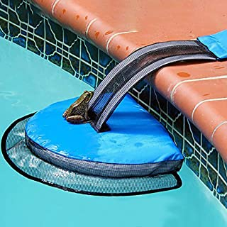 Transser - FrogLog Animal Saving Escape Ramp for Pool, Frog Log Escape Devices for Small Animals in Pools (3Pcs)