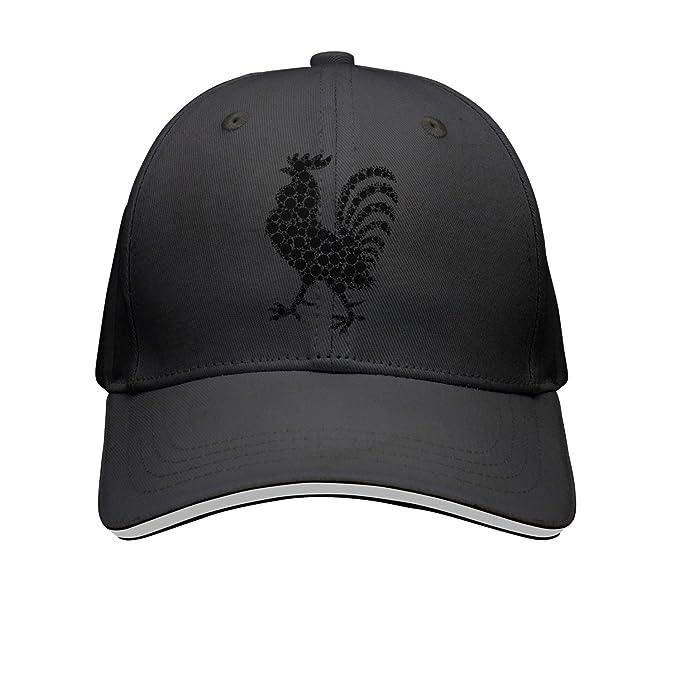 OKSDLK Black Rooster Snapback Hats Cool Hat at Amazon Men s Clothing ... f063025c6f8