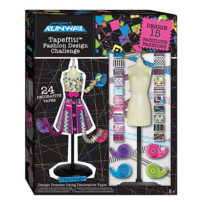 Amazon.com: Project Runway Tapeffiti Fashion Design Challenge: Toys & Games