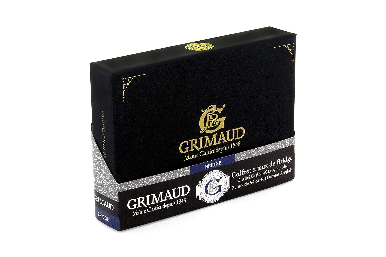 130007956 Negro Grimaud Expert-coffret de Tarjetas Bridges