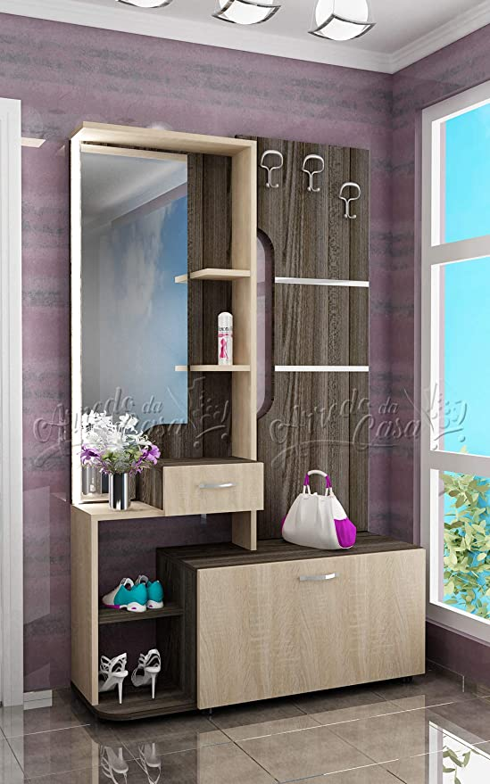 Arredodacasa.com Mobile per Ingresso con Specchio Design Moderno Modello II4037