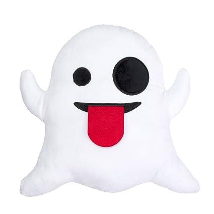 cojín, diseño de emoticon Ghost, juguete decorativo, blanco, de Desire Deluxe