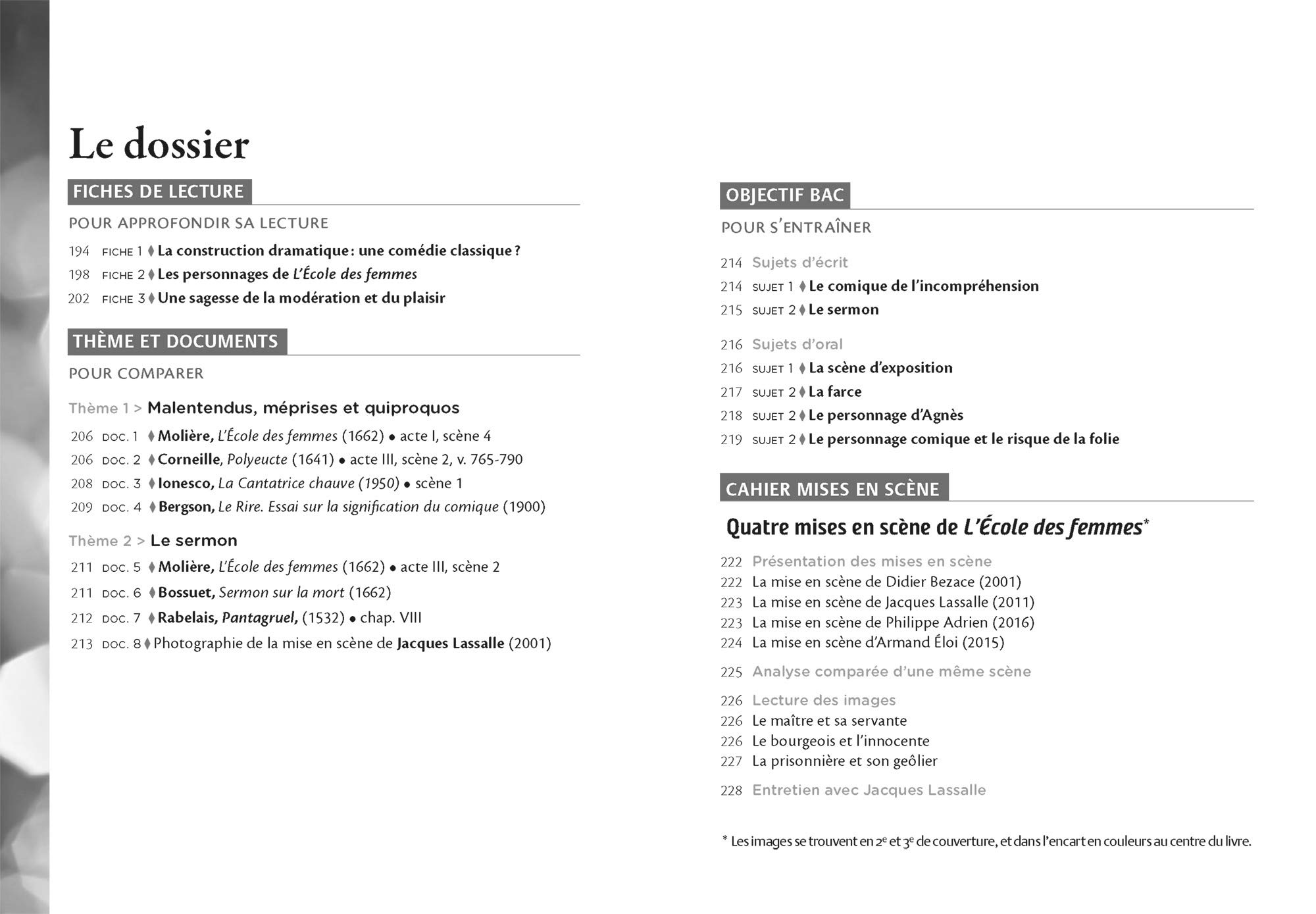 LÉcole des femmes: suivi de La Critique de L École des femmes et d un cahier « Mises en scène » Classiques & Cie Lycée: Amazon.es: Molière: Libros en ...