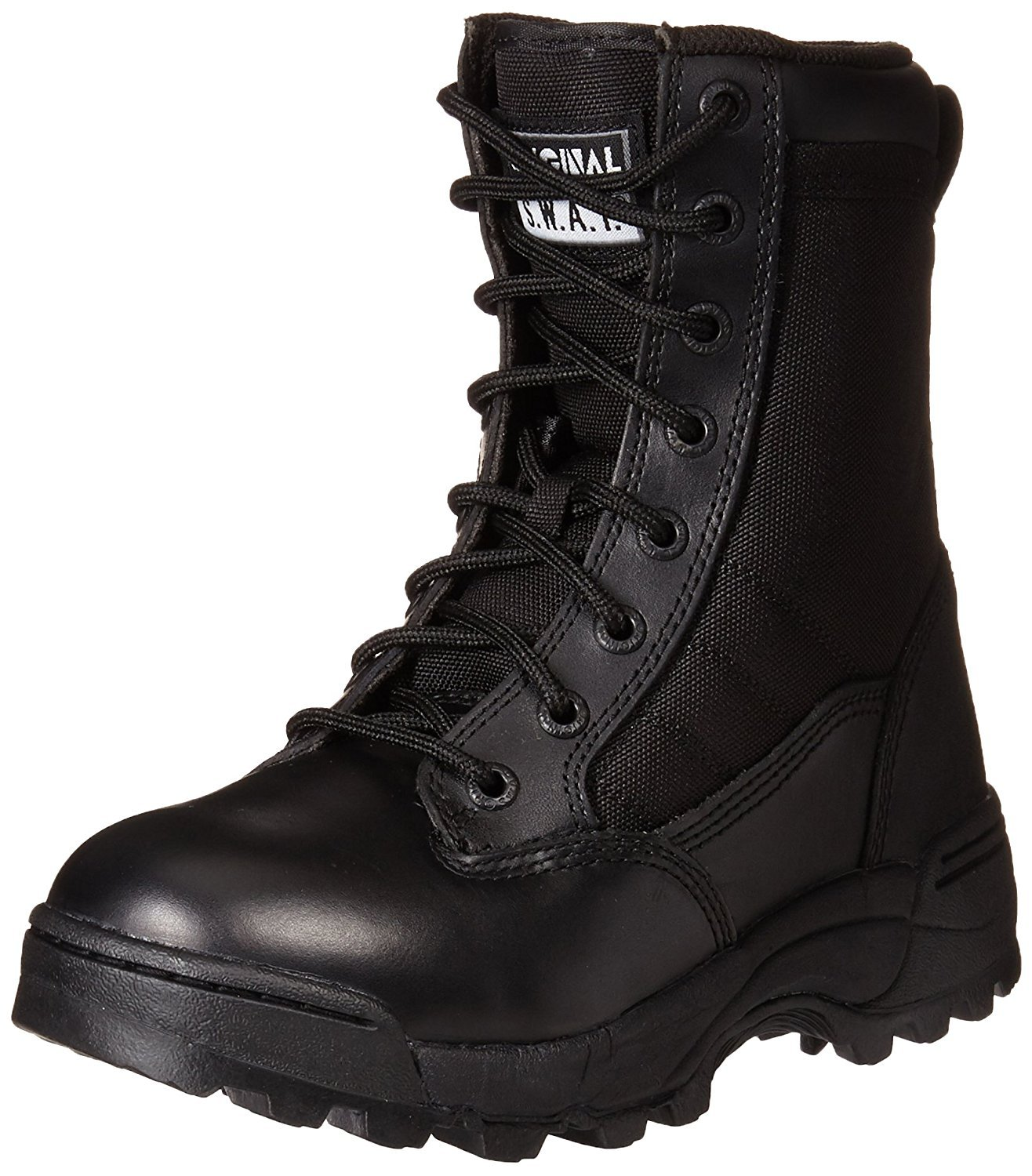 Women's Classic 9 Inch Tactical Boot, Black, 7.5 B US