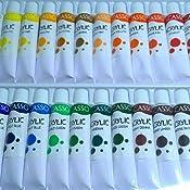 vacasso Juego de pintura acrílica tubo, perfecto para pintura ...