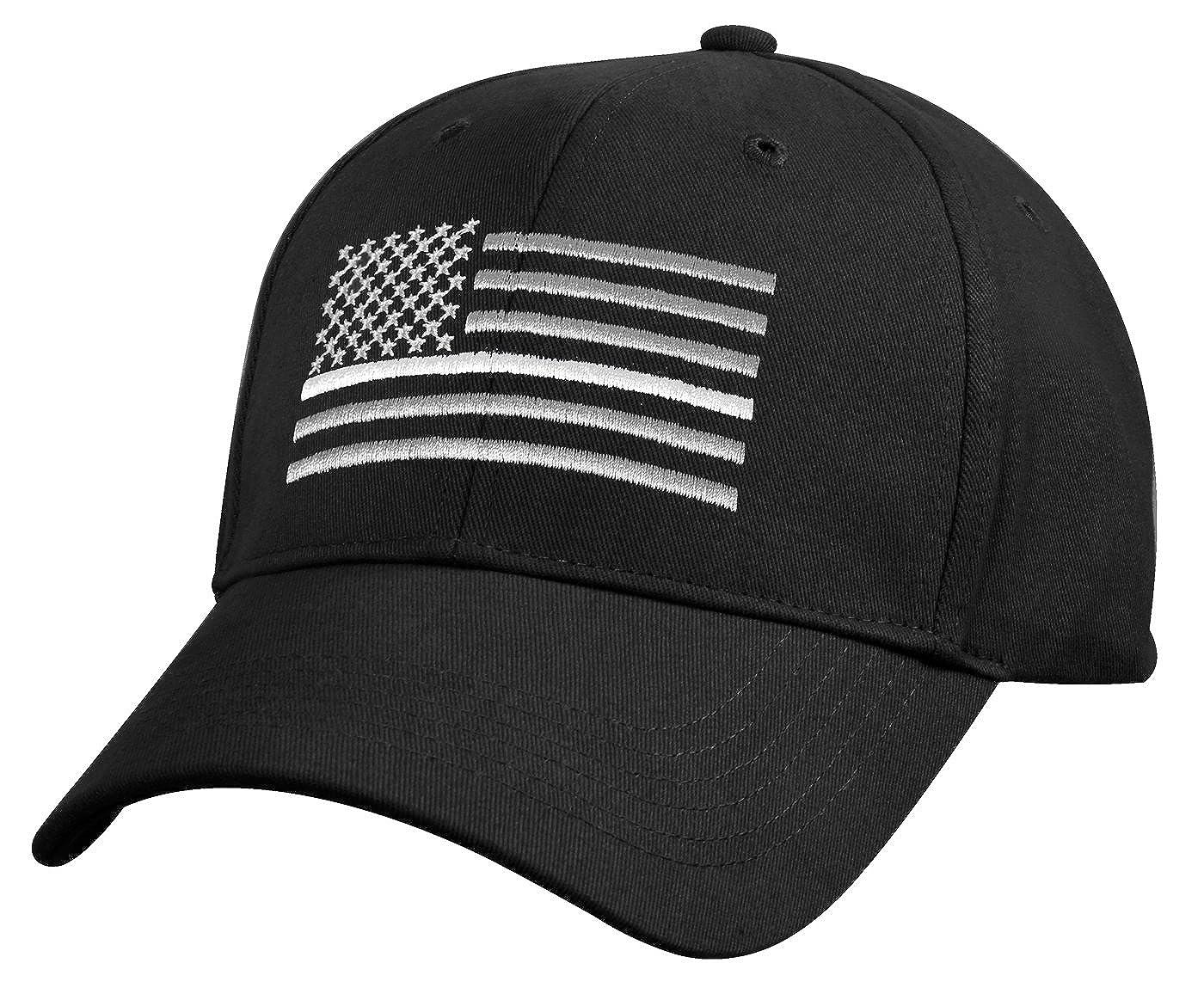 Amazon.com  Rothco Thin White Line Flag Low Pro Cap  Clothing 3e992f543d