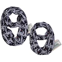 BIAOSU 2Pack Fashion Face Scarf Mask Shield Scarf Cool Lightweight Summer Protection Scarf Bandana UV Protective for…