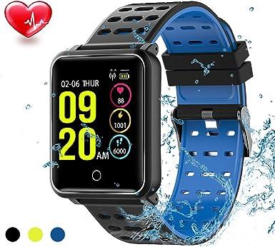TagoBee TB06 IP68 a Prueba de Agua Smart Watch HD Touch Screen Fitness Tracker Soporte de presión Arterial ...