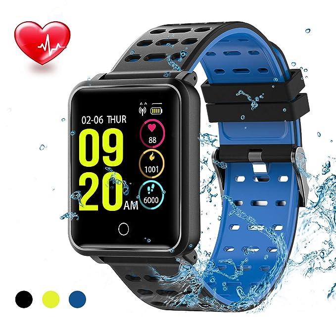 TagoBee TB06 IP68 a Prueba de Agua Smart Watch HD Touch Screen Fitness Tracker Soporte de presión Arterial frecuencia cardíaca Sleep Monitoring ...
