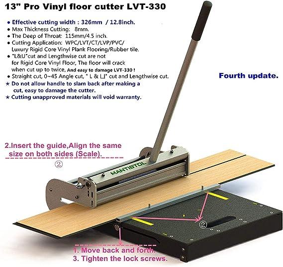 Hand Tile Cutters for VCT,LVT PVC LVP WPC and Rigid Core Vinyl ...