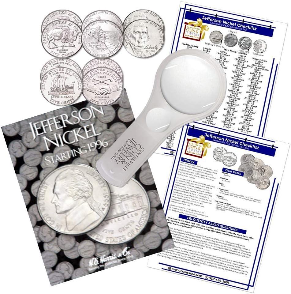 Whitman Harris Jefferson Nickel #3 Folder 1996-